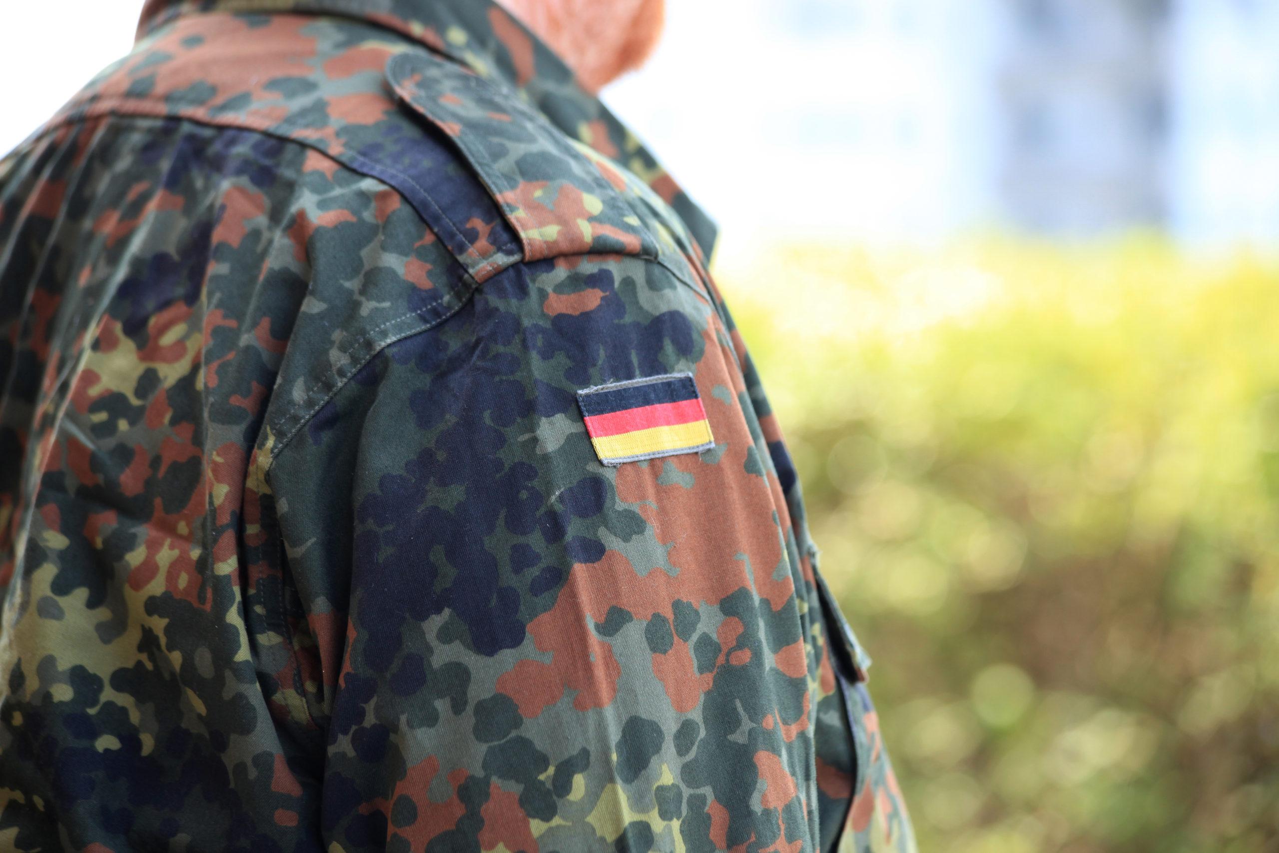 Eine Bundeswehruniform