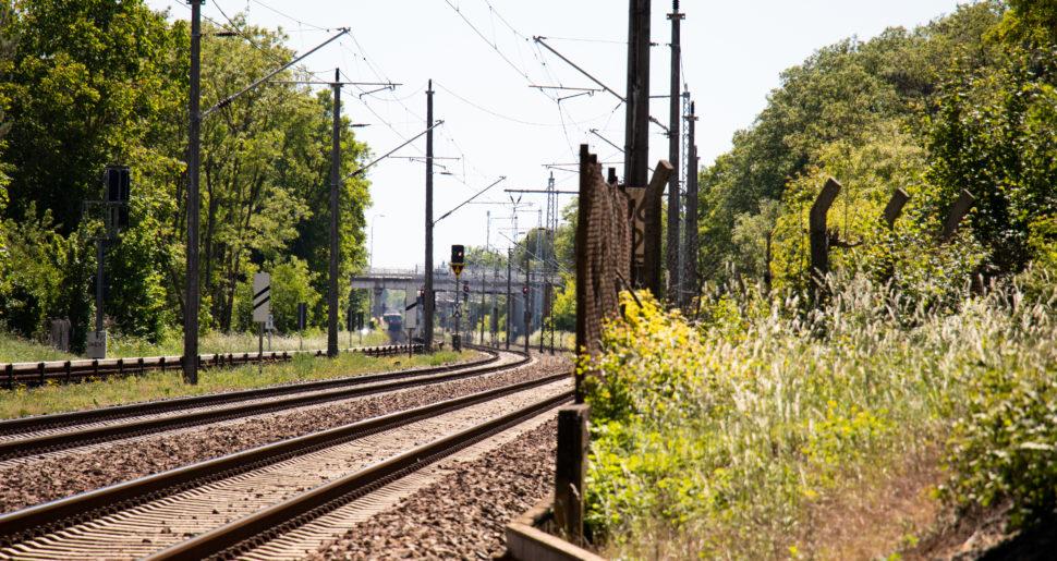 Eine Bahnstrecke für den Verkehr